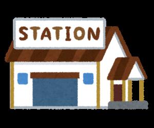 駅・駅舎のイラスト