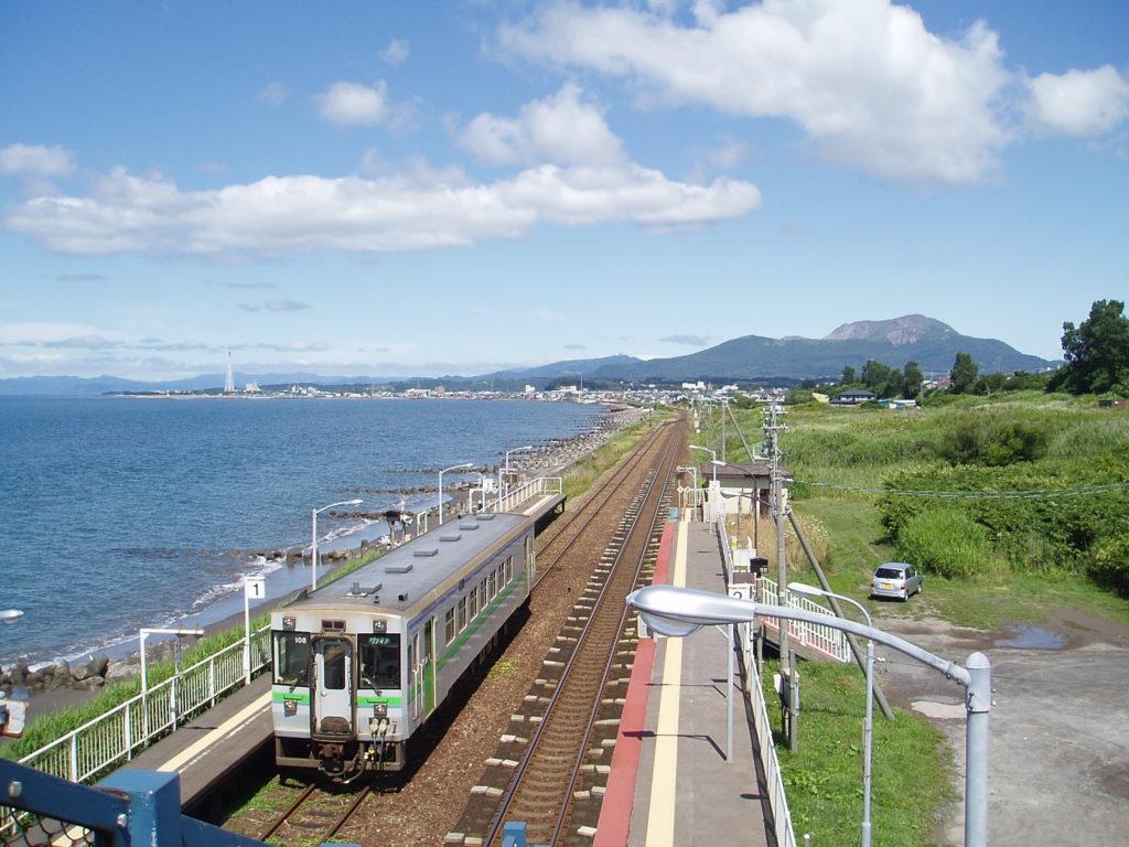 室蘭本線-北舟岡駅