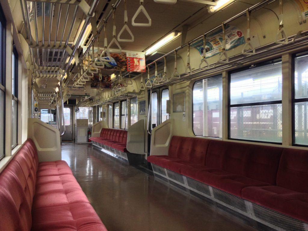 701系-車内