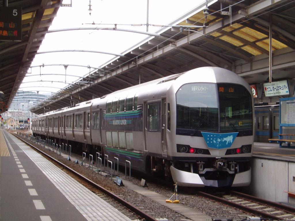 快速マリンライナー-高松駅