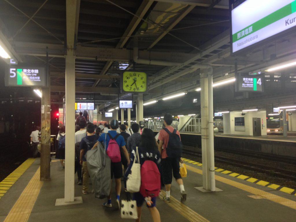 黒磯駅-乗り換え