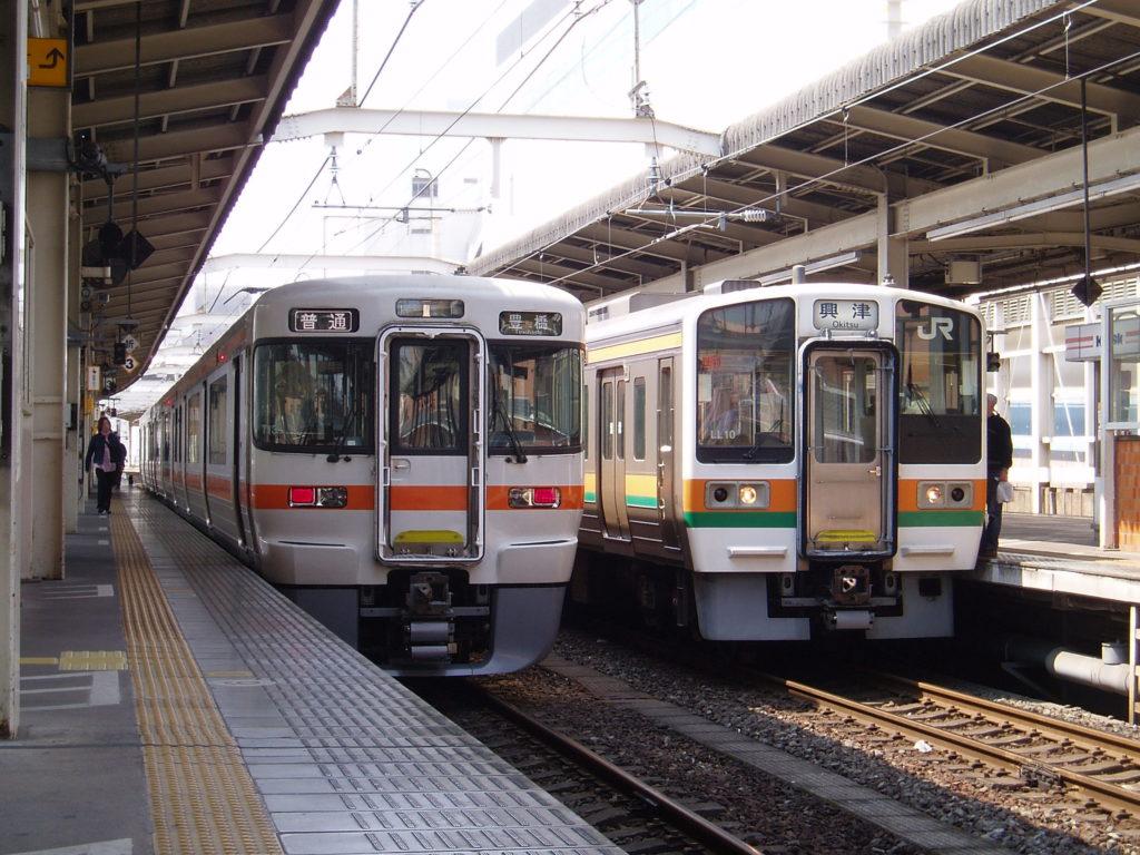 313系、211系-浜松駅