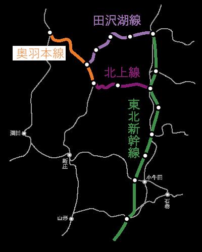 田沢湖線-北上線