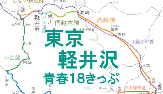 日帰りがお得!東京~軽井沢を18きっぷで